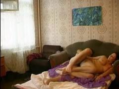 Горячий секс русской мамы и сына всегда привлекает